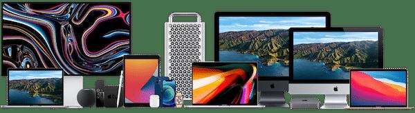 Apple Hardware Family 2021