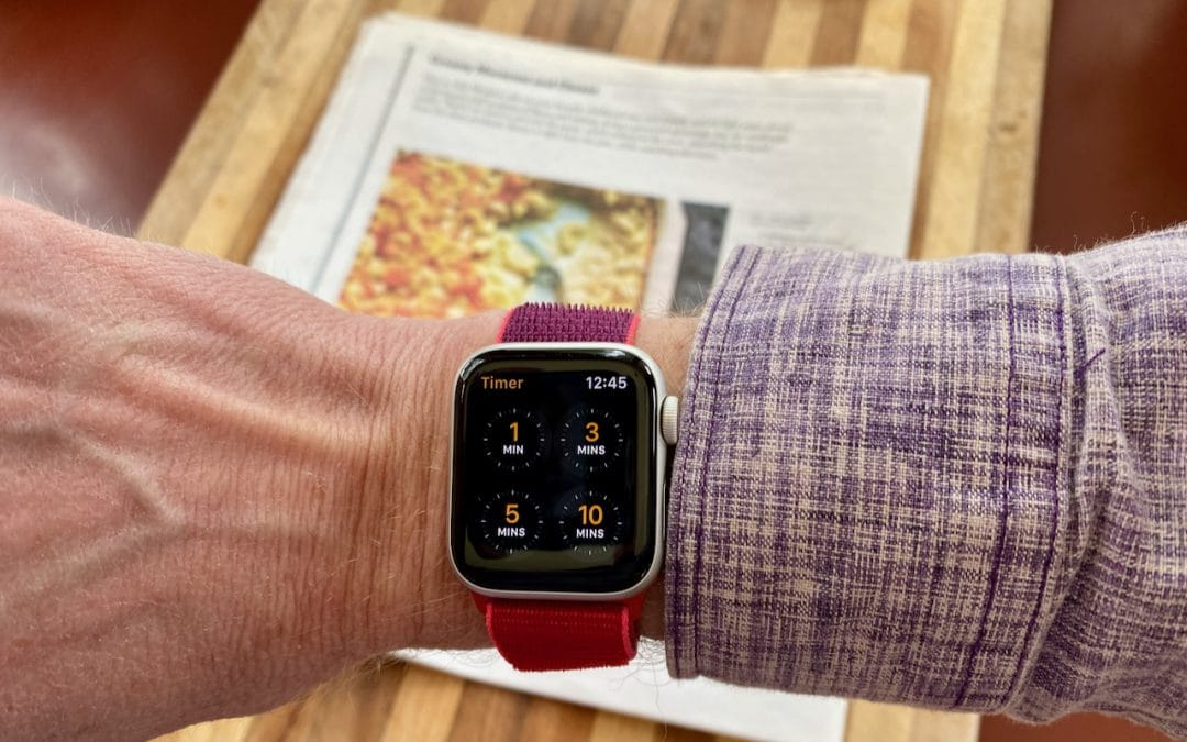 Stop Apple Watch Timer Alerts with a Press of the Digital Crown